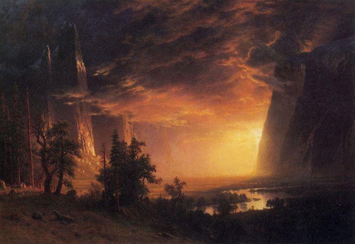 1280px-Bierstadt_Albert_Sunset_in_the_Yosemite_Valley
