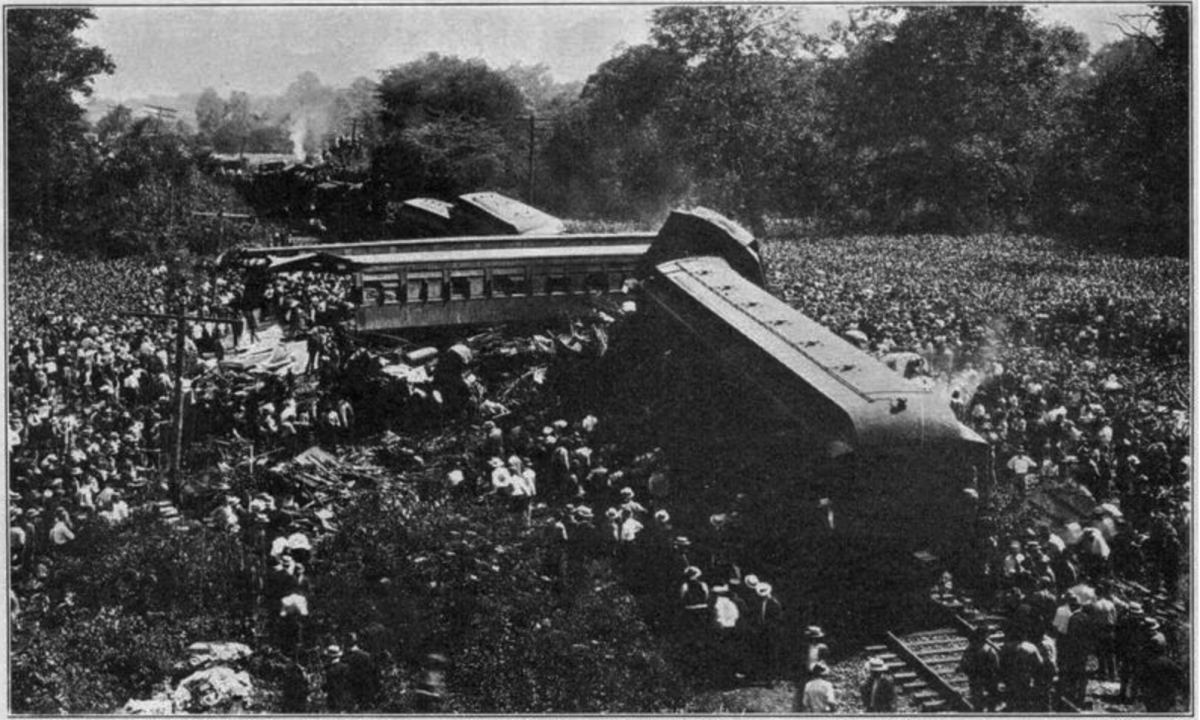 The Great Train Wreck of 1918
